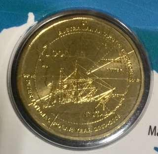 Australia 2007-2008 International Polar Year $1 coin.