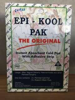 epi kool pad pak cold pads cold pad with adhesive post surgery perineal pad cool pad mesh panties