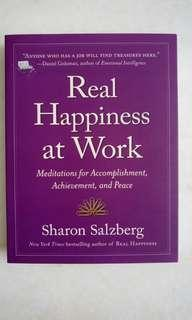 #SparkJoyChallenge 😊 Real Happiness at Work: Meditations for Accomplishment, Achievement, and Peace by Sharon Salzberg