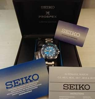 Seiko Samurai Blue Lagoon SRPB09