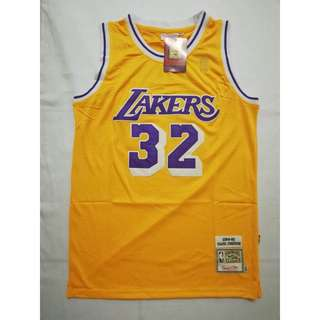 26147af04a1 Magic Johnson  32 Retro Edition Swingman Jersey (Los Angeles Lakers)