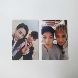 🚚 seventeen going svt jeongcheol & meanie unit pc