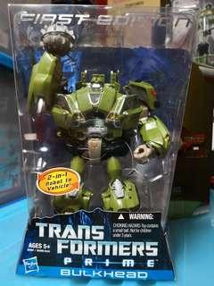 TRANSFORMERS Prime 1st edition Bulkhead Voyager class