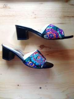 [Sepatu Wanita] Vizzano Shoes Black