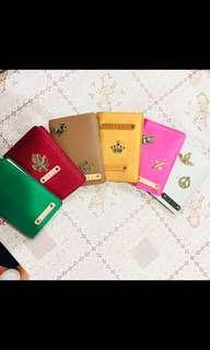 Sarung Passport sekali keychain