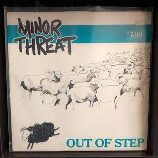Vinyl: Minor Threat - Out Of Step