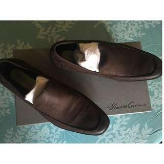 🔥SALE🔥Kenneth Cole with Silver Tech Brown Shoes