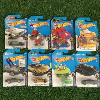 Hotwheels Screen Time Lots 8pcs