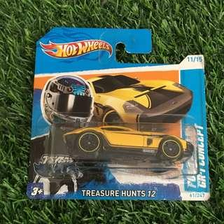 Hotwheels Short Card