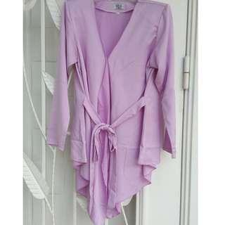Kimono wrap fishtail top