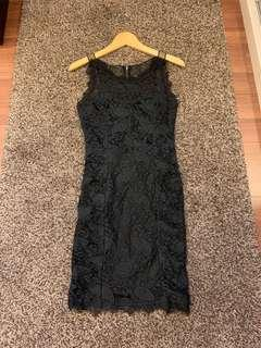 Forever Unique Lace Bodycon Dress