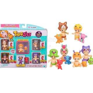 Twozies Season 1 Original From US 12 Twozies 6 Babies + 6 Pets