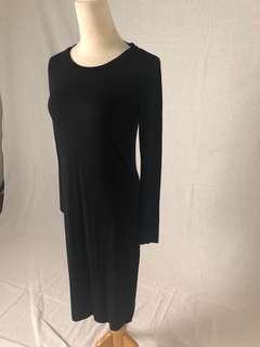 M&S black dress size 8