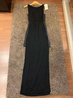 Zara Maxi Black Dress