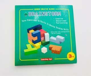 3D dimensional IQ puzzles