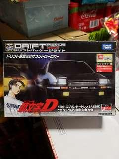 Initial D AE86 Drift Package Light Remote Control Car