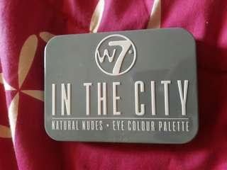 W7 in the city eyeshadow palette