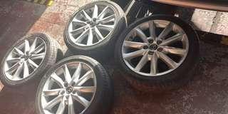 Mazda 3 Mag wheels -4pcs