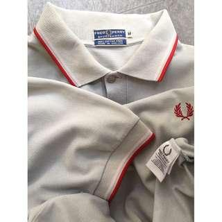 Fred Perry Sportswear Pique Polo Shirt SS - Silver