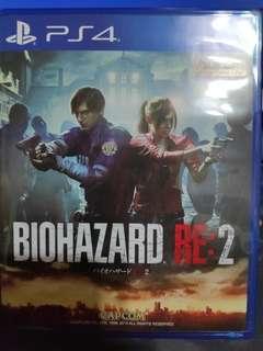 PS4 惡靈古堡2 重製版