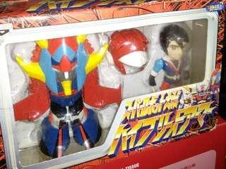 2盒全新中古玩具日本BANPRESTO勇者雷登,高達