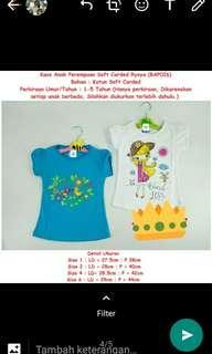Baju kaos anak