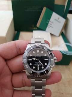 Rolex Submariner no date sealed