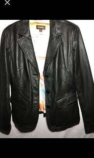 Danier leather jacket - small