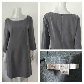 Gap (Tall) Gray Office Dress