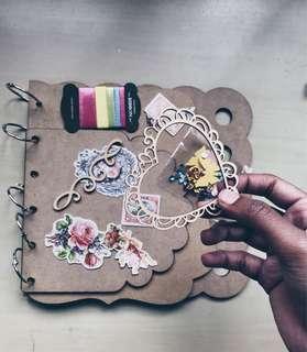 diy journal/ album