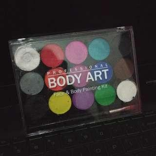[Reprice] Face & Body Painting kit