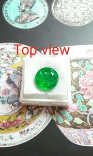 CERTIFIED NATUREL EMERALDS FINE GEM STONE
