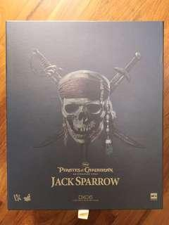 🚚 Hot Toys DX06 Pirates of the Caribbean Jack Sparrow