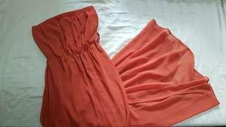 🚚 Forever 21 Long Chiffon Dress