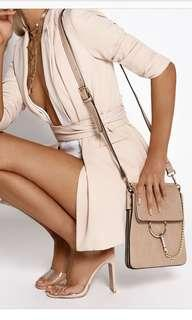 BILLINI // isa bag nude