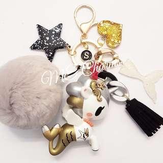 Tokidoki Mermicorno Series 2 Coraline Bag Charms / Fobs
