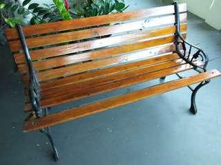Rare Antique Garden Bench