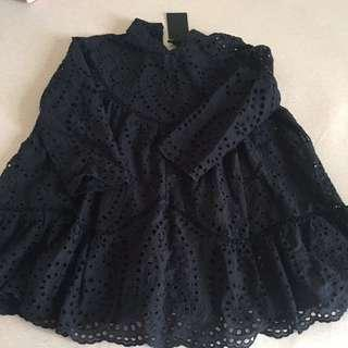 New Baby Doll Cotton TOP (size L)