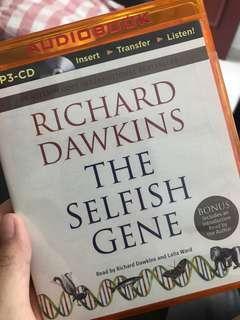 🚚 The Selfish Gene - Audiobook (sealed)