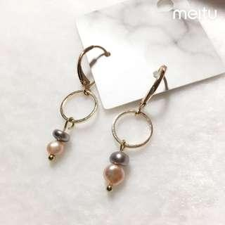 全新珍珠耳環new pearl earings