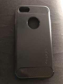 Iphone 7 Spigen Case Black