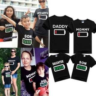 🚚 INSTOCK DADDY MOMMY DAUGHTER SON Family Matching Tshirts Tee Clothes Tops Blouse / Baby Rompers Bodysuits