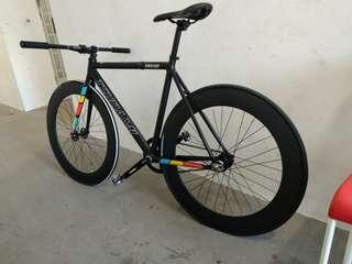 70mm alu wheelset