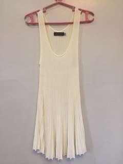 Giordano Ladies Offwhite dress