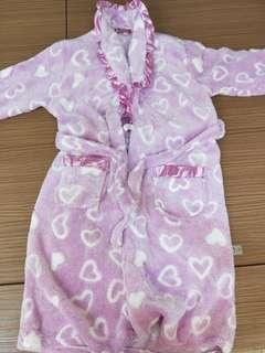 🚚 法蘭絨粉色愛心睡衣~出價即談