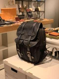 Filson Rucksack Black Made in USA