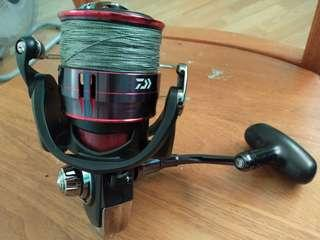 🚚 Daiwa fuego 6000LT Fishing Reel