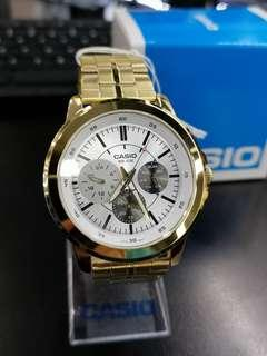 Casio Watch MTP-X300G-7E (100%Ori)