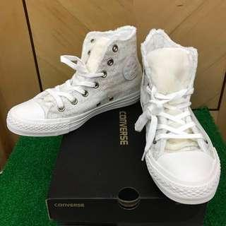 (Size 37.5) New Furry Converse