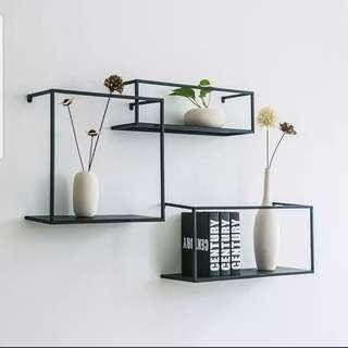 🚚 (Instock) Mod Floating Accent Wall Shelf Set
